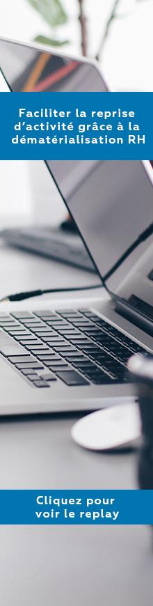 webinar Facilité la reprise d'activité grâce à la dématérialisation